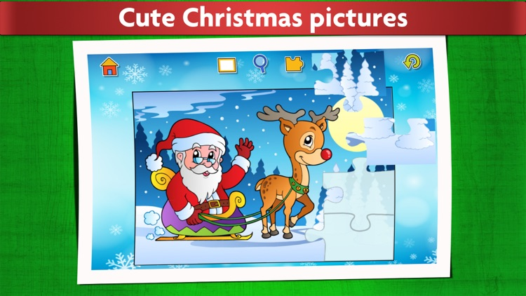 Christmas Game: Jigsaw Puzzles