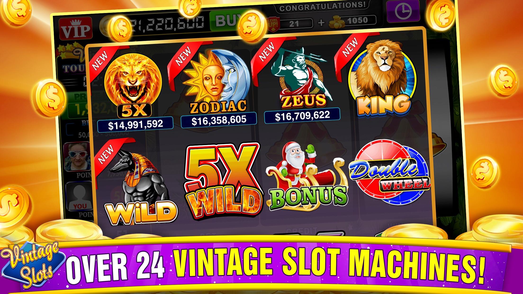Vintage Slots - Old Las Vegas! Screenshot