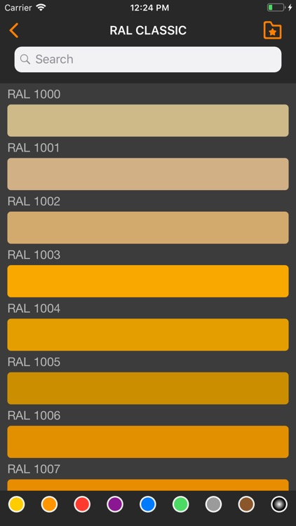Ral Colors Ncs Color Chart Lt By Stanislau Karaleuski