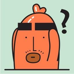 Sausage Man Animated Stickers