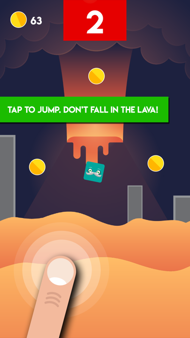 Lava Challenge - The Viral Floor Game Is For Real screenshot one