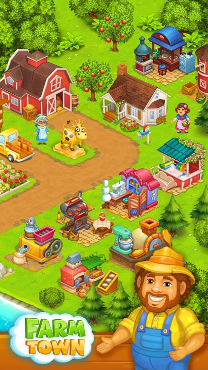 Farm Town: Happy farming Day