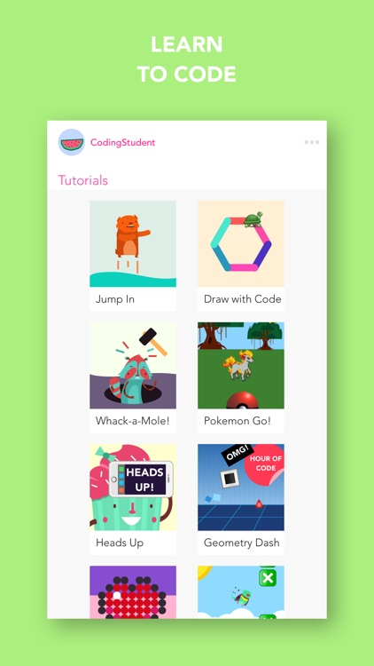 Hopscotch: Learn to Code, Make your own game screenshot-0