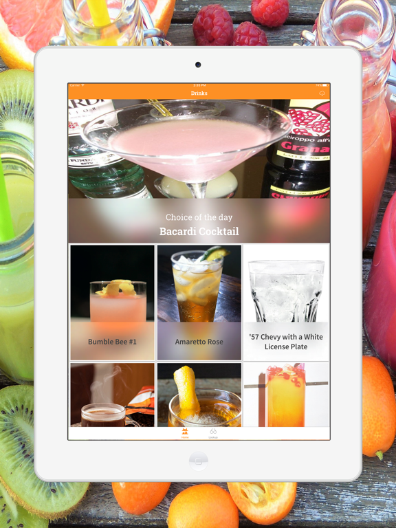 Mix Drink, Cocktail & Smoothie-ipad-0