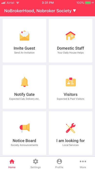 NoBrokerHood - Manage Visitors Preview 0