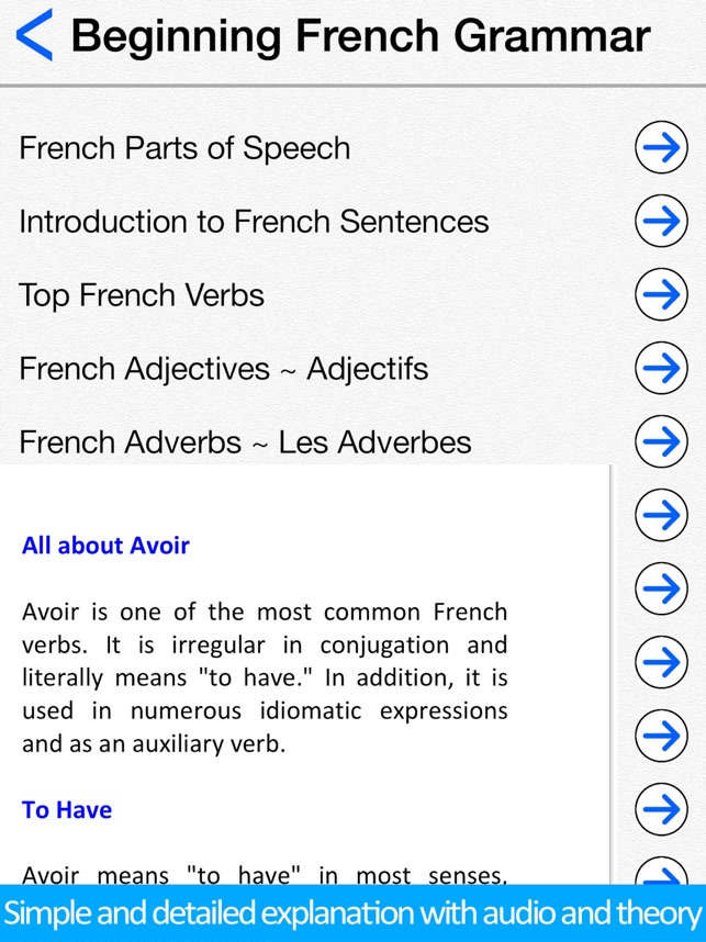 Learn French For Beginners On The App Store