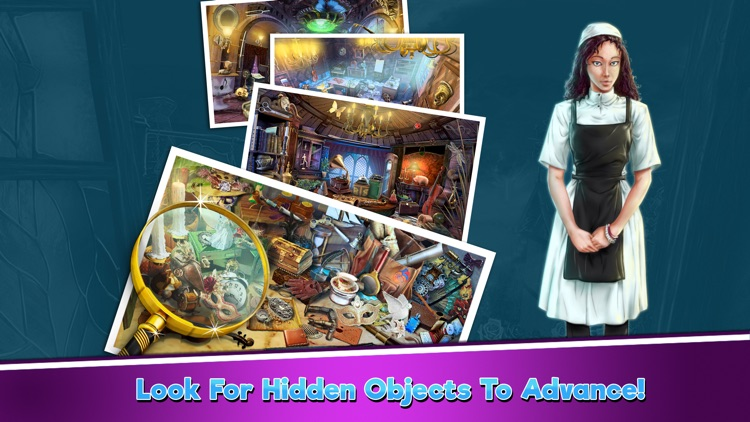 Hidden Objects Mysterious Mansion screenshot-4
