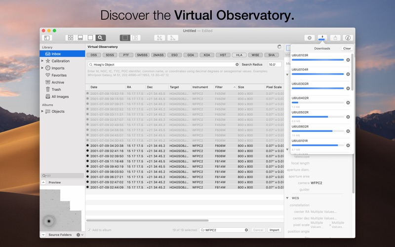 Observatory for Mac