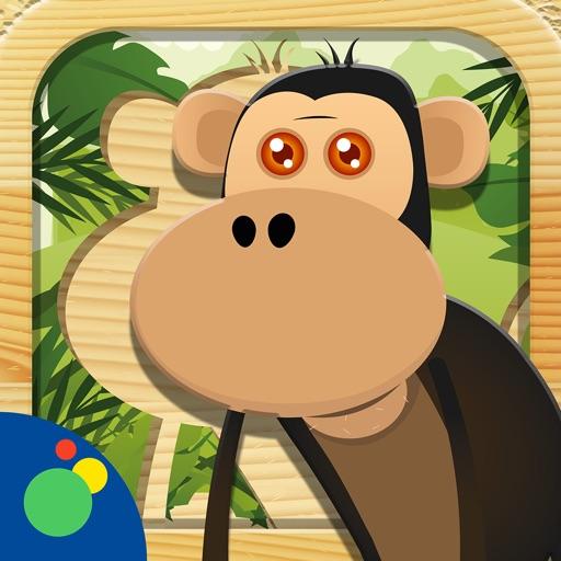 Jungle Animal Puzzles