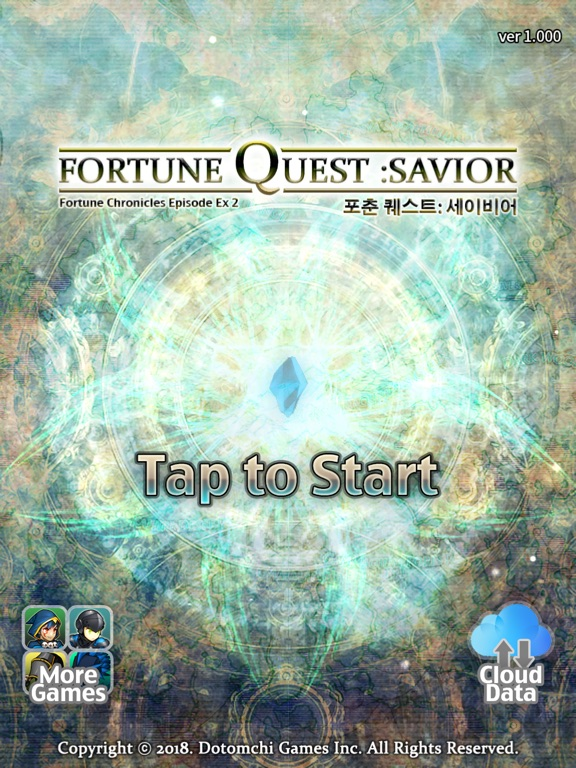 Image of Fortune Quest: Savior for iPad