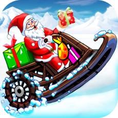 Activities of Santa Sledge Race:Christmas