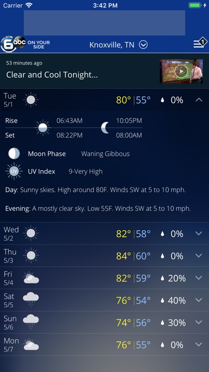 Knoxville Weather - WATE screenshot-3