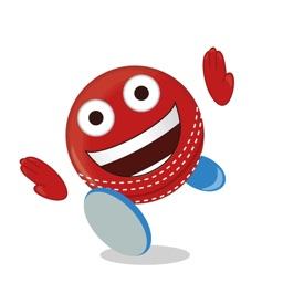Cricket Ball Emoji - Stickers & Animations