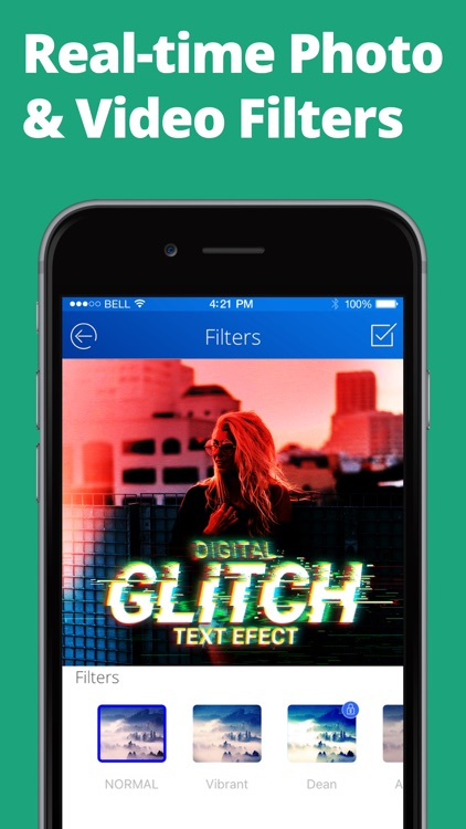 Glitch Art Cam - Video Editor
