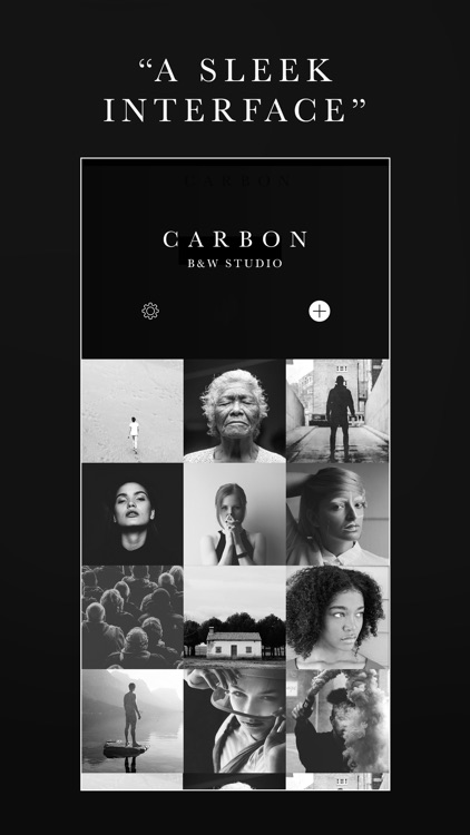 Carbon - B&W Photo Editor screenshot-4