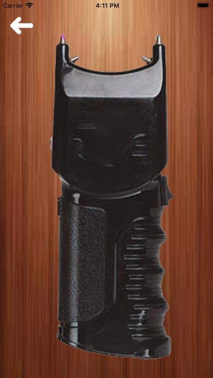 Chainsaw, Trimmer & Stun Gun