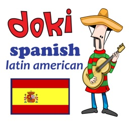 Learn Basic Latin American Spanish with Doki HD