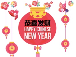 Chinese New Year Stickers