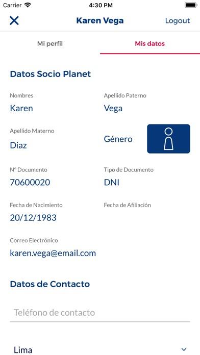 Screenshot for Cineplanet Perú in Peru App Store