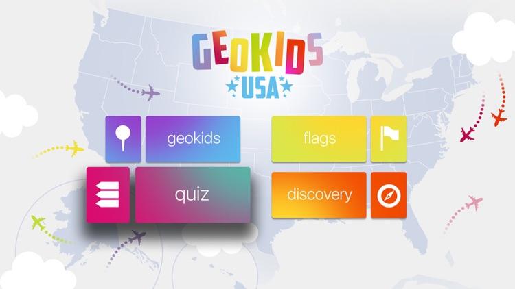 GeoKids USA fo Kids