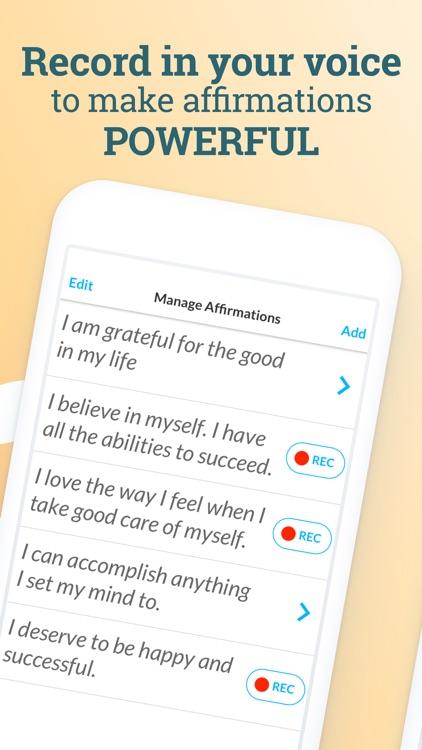 ThinkUp: Positive Affirmations