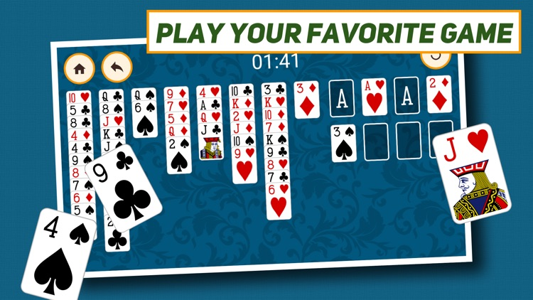 FreeCell Solitaire: Classic. screenshot-4