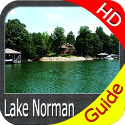 Lake Norman North Carolina HD - GPS fishing charts