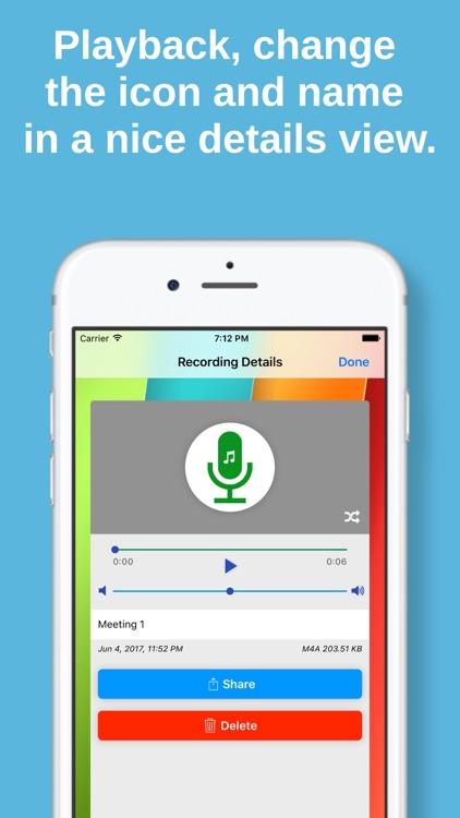Audio, Voice & Music Recorder
