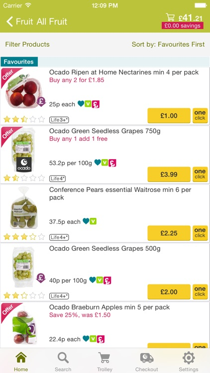 Ocado: groceries made easy screenshot-3