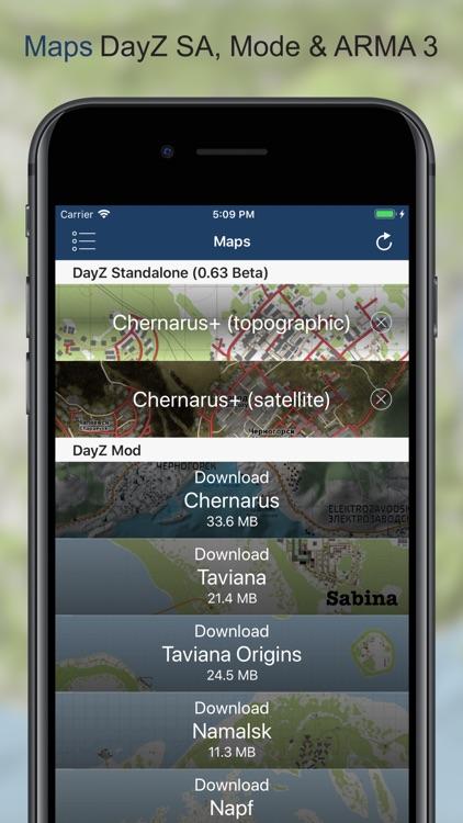 iZurvive - DayZ Map screenshot-3