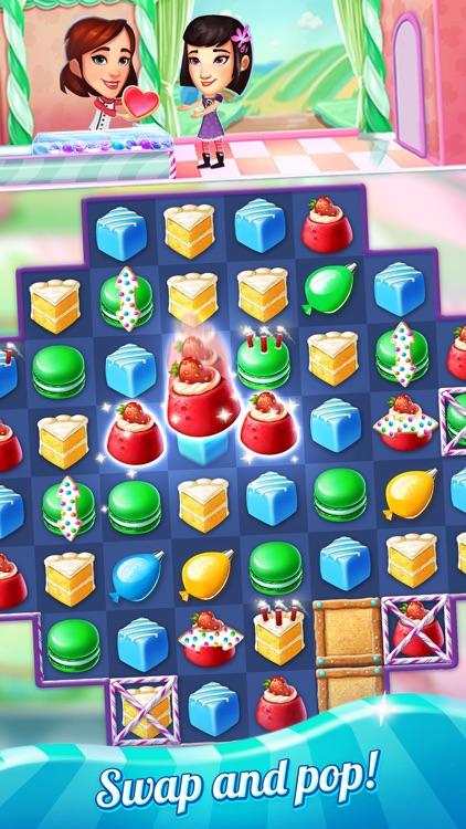 Crazy Cake Swap: Matching Game screenshot-0