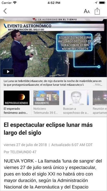 Telemundo 39 screenshot-3