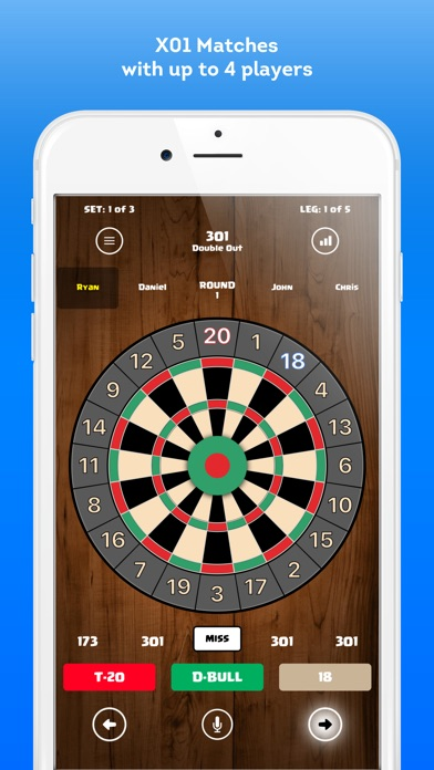 Score Darts Cricket And X01 By Daniel Simons Sports Category
