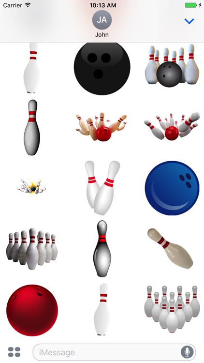 Bowling Stickers!