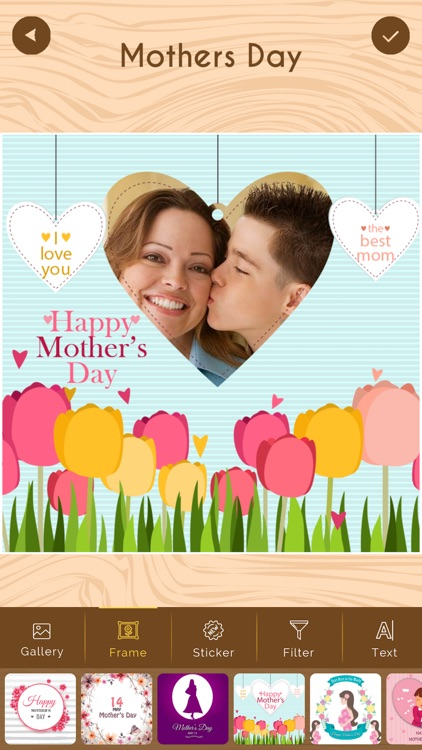 Mother's Day Photo Frame HD