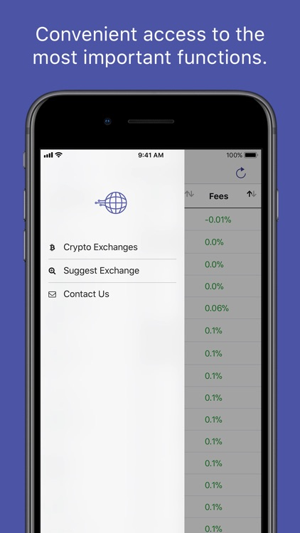 Crypto Exchanges Mobile screenshot-4