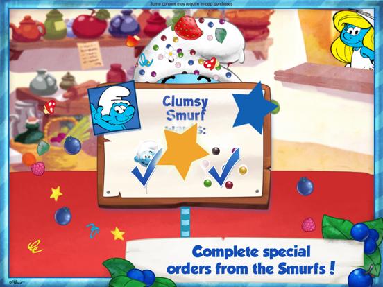 The Smurfs Bakery iPad app afbeelding 4