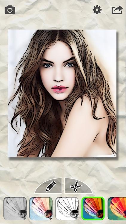 Pencil Sketch Pro-Pics Filters screenshot-3