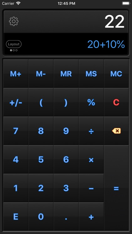 Calculator HD Pro Lite screenshot-4
