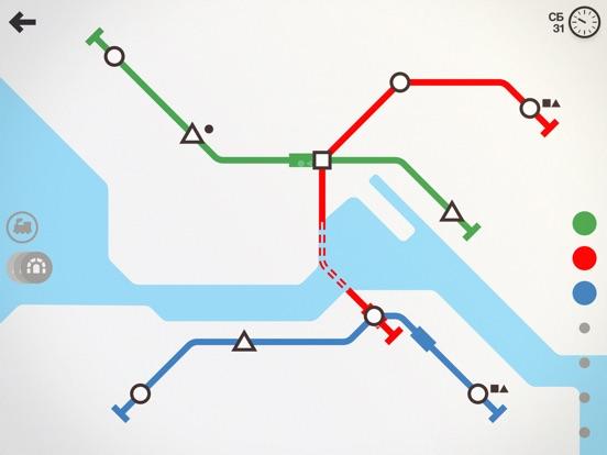 Mini Metro для iPad
