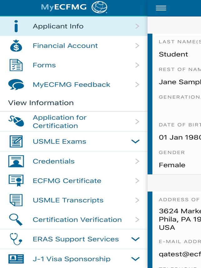 Myecfmg On The App Store