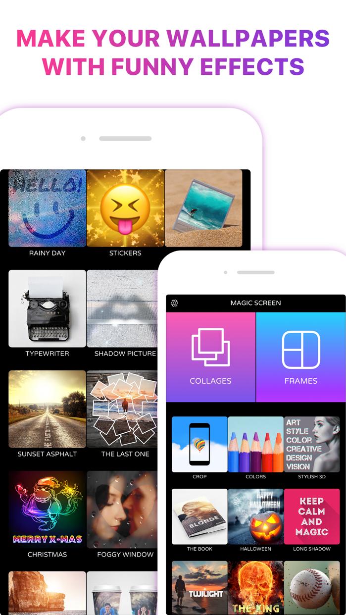 Magic Screen Customize Your Lock & Home Wallpaper Screenshot