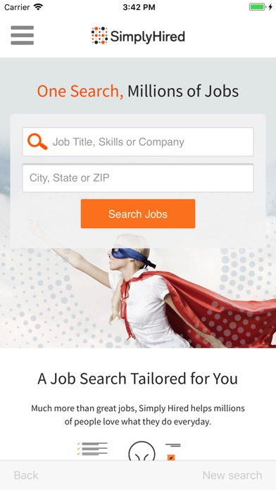 Simply hired app download