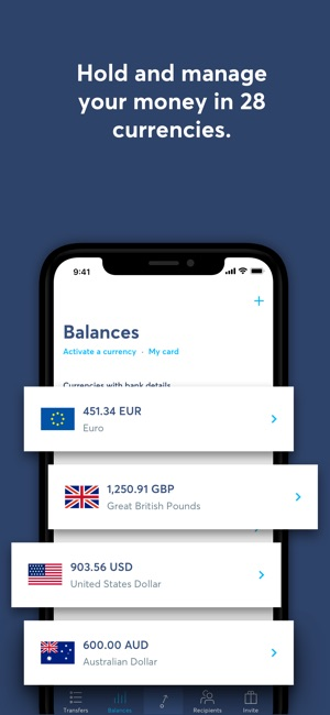 TransferWise Money Transfer on the App Store