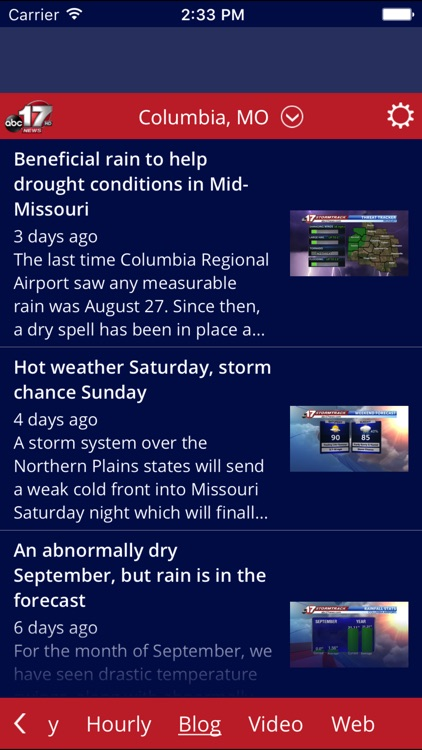 ABC 17 Stormtrack Weather App screenshot-4