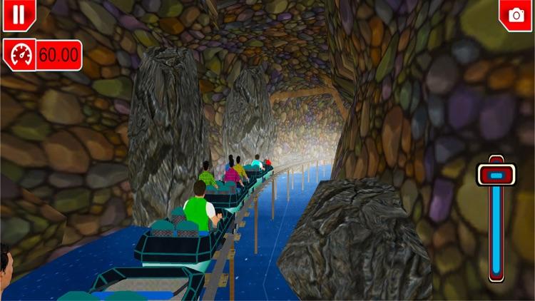 Roller Coaster Adventure 3D screenshot-4