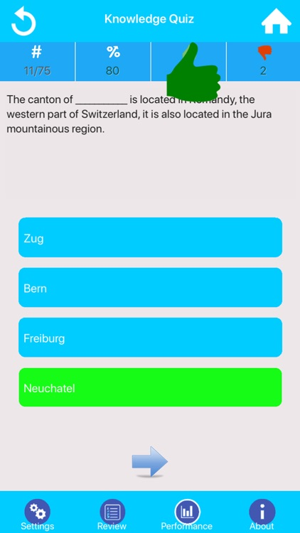 Swiss Canton Quizzes screenshot-2