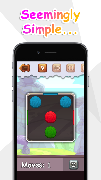 Balls to the Wall - a sliding puzzle screenshot 2