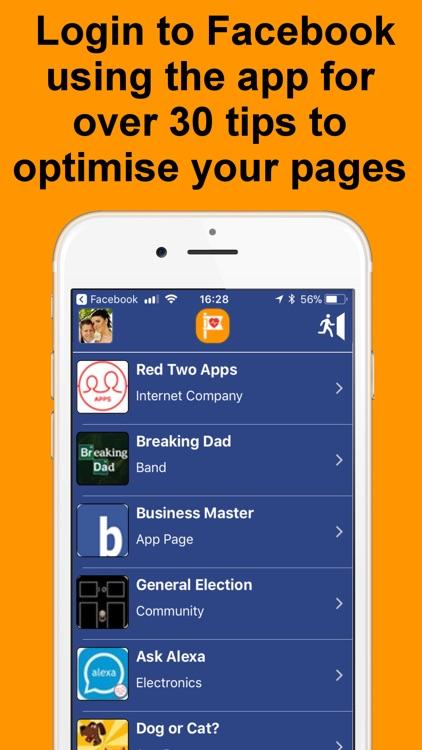 Page Optimiser for Facebook