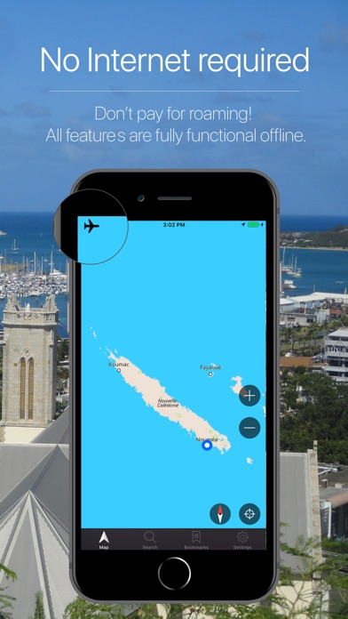 Screenshot for New Caledonia Navigation in South Africa App Store